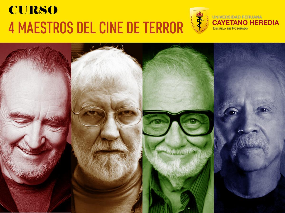 Curso 4 Maestros Del Cine De Terror